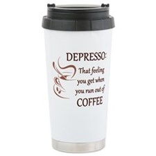 Depresso That Feeling you Get Without Coffee Trave