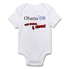 Obama Well Spoken & Clean Infant Bodysuit