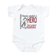 Parkinsons HeavenNeededHero1 Infant Bodysuit