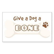 Give a Dog a BONE Decal