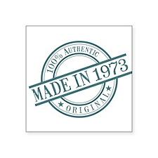 Made in 1973 Sticker