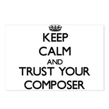 Keep Calm and Trust Your Composer Postcards (Packa