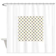 Black And White Polka Dot Bathroom Accessories & Decor - CafePress