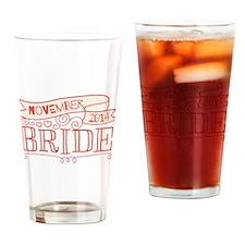 Bride 2014 November Drinking Glass