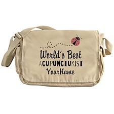 World's Best Acupuncturist Messenger Bag