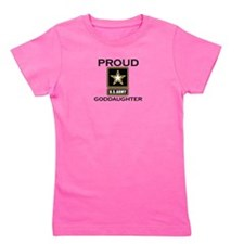 Proud Army Goddaughter Girl's Tee