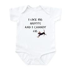 I like big mutts Infant Bodysuit