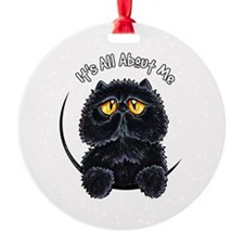Black Persian IAAM Ornament