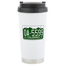 Unique Retro auto racing Travel Mug
