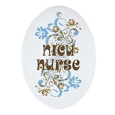 NICU Nurse Ornament (Oval)