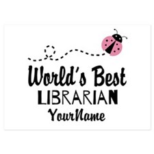 World's Best Librarian Invitations