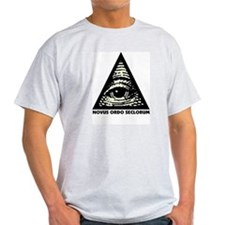 Pyramid Eye Ash Grey T-Shirt