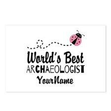 World's Best Archaeologis Postcards (Package of 8)