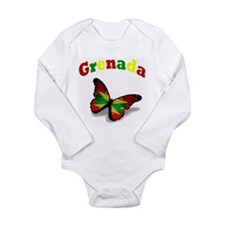 Butterfly Grenada Body Suit