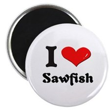 I love sawfish Magnet