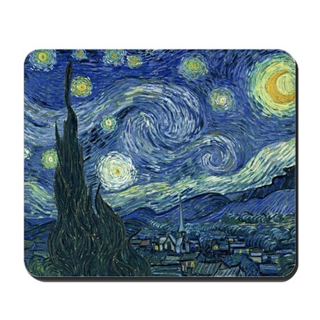 Van Gogh Mousepad