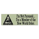 Pyramid Eye Bumper Bumper Sticker