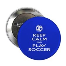 "Play Soccer Ball 2.25"" Button"