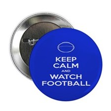 "Watch Football Ball 2.25"" Button"