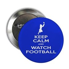 "Watch Football Player 2.25"" Button"