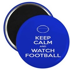 Watch Football Ball Magnet