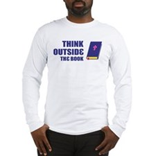 Outside the Book Long Sleeve T-Shirt