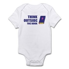 Outside the Book Infant Bodysuit