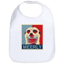 Meerly Meerkat Bib