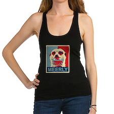 Meerly Meerkat Racerback Tank Top