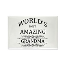 World's Most Amazing G Rectangle Magnet (100 pack)