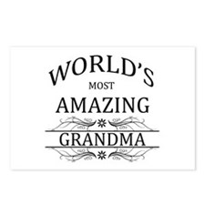World's Most Amazing Gran Postcards (Package of 8)