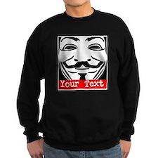 Custom Guy Fawkes Sweatshirt
