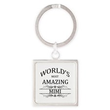 World's Most Amazing Mimi Square Keychain