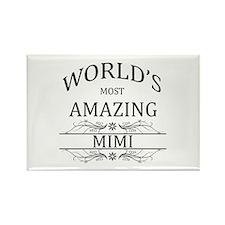 World's Most Amazing Mimi Rectangle Magnet