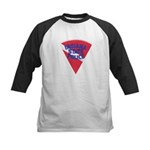 Indiana State Police Diver Kids Baseball Jersey