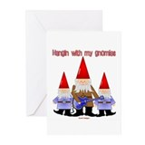 Hanging With My Gnomies Greeting Cards (Package of