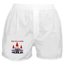 Hanging With My Gnomies Boxer Shorts