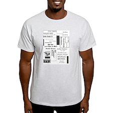 Tap Dance Greats Ash Grey T-Shirt