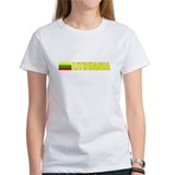 Lithuania Flag II (Dark) Tee