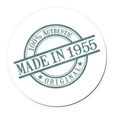 Made in 1955 Round Car Magnet
