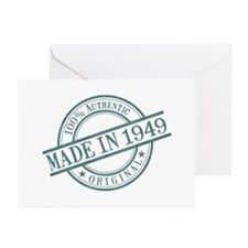 Made in 1949 Greeting Cards (Pk of 10)
