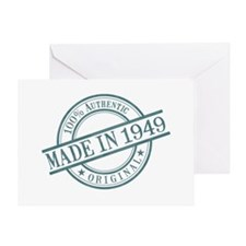 Made in 1949 Greeting Card