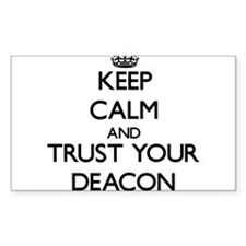 Keep Calm and Trust Your Deacon Decal