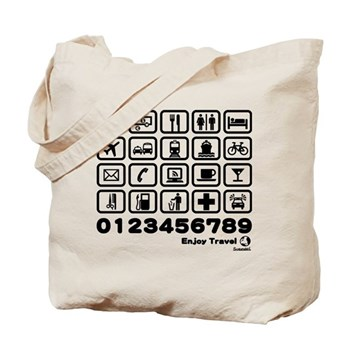 Point in Travel Tote Bag