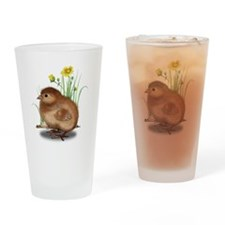 Chick One Drinking Glass