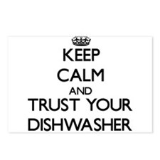 Keep Calm and Trust Your Dishwasher Postcards (Pac