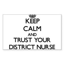 Keep Calm and Trust Your District Nurse Decal