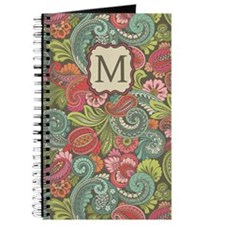 Paisley Cyngalese Monogram Journal