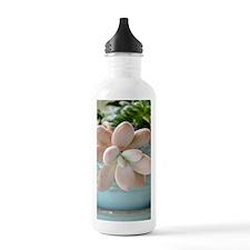 Succulent Sedum Pink J Water Bottle