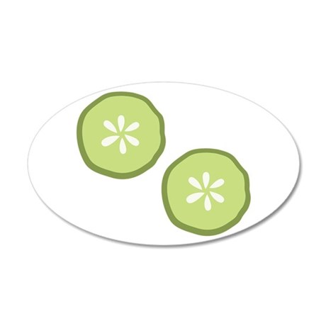 Pickle Slices Wall Decal